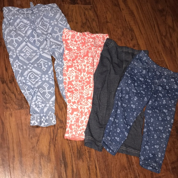 Carter's Other - Carter's 18 months 4 leggings bundle